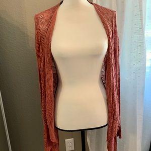 Torrid Size 1X, Rose Knit Cardigan